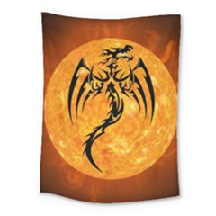 Dragon Fire Monster Creature Medium Tapestry