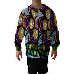 Folk Art Flower Hooded Wind Breaker (kids)