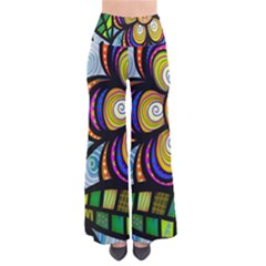 Folk Art Flower Pants