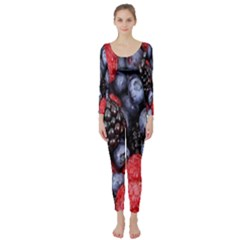 Forest Fruit Long Sleeve Catsuit