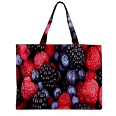 Forest Fruit Medium Zipper Tote Bag