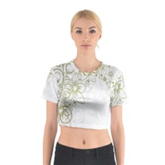 Flowers Background Leaf Leaves Cotton Crop Top