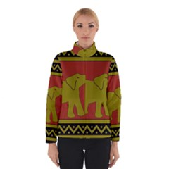 Elephant Pattern Winterwear
