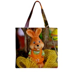 Easter Hare Easter Bunny Grocery Tote Bag