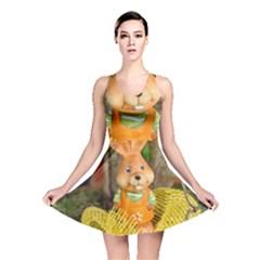 Easter Hare Easter Bunny Reversible Skater Dress