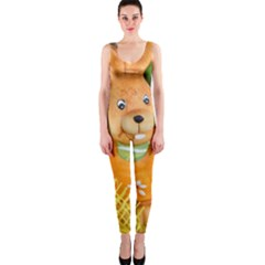 Easter Hare Easter Bunny OnePiece Catsuit