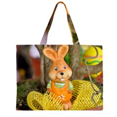 Easter Hare Easter Bunny Large Tote Bag
