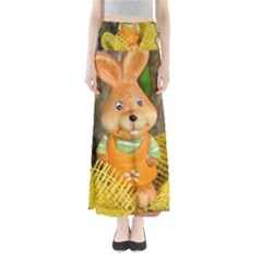 Easter Hare Easter Bunny Maxi Skirts