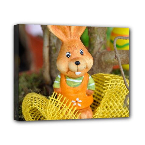 Easter Hare Easter Bunny Canvas 10  x 8