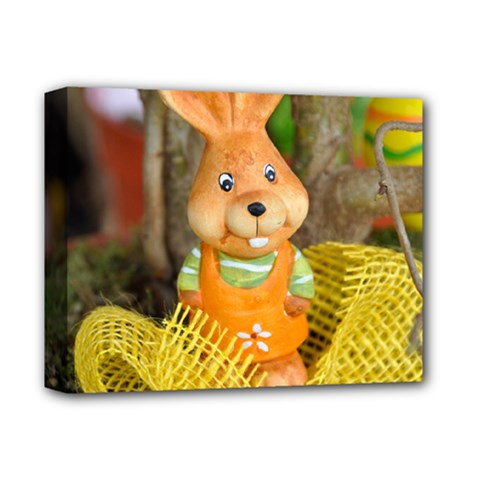 Easter Hare Easter Bunny Deluxe Canvas 14  x 11