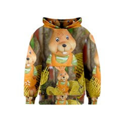 Easter Hare Easter Bunny Kids  Pullover Hoodie