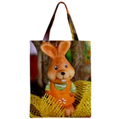 Easter Hare Easter Bunny Zipper Classic Tote Bag