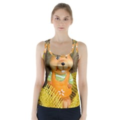 Easter Hare Easter Bunny Racer Back Sports Top