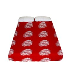 Happy Chinese New Year Pattern Fitted Sheet (full/ Double Size)