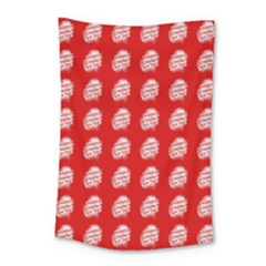 Happy Chinese New Year Pattern Small Tapestry