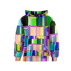 Glitch Art Abstract Kids  Pullover Hoodie