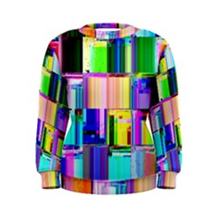 Glitch Art Abstract Women s Sweatshirt