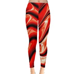 Fractal Mathematics Abstract Leggings