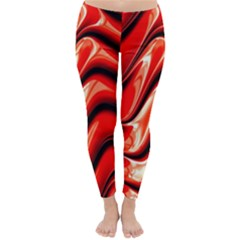 Fractal Mathematics Abstract Classic Winter Leggings