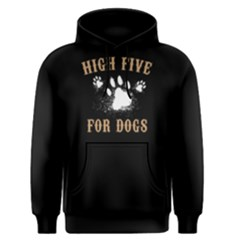 High Five For Dogs  Men s Pullover Hoodie