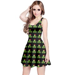 Irish Christmas Xmas Reversible Sleeveless Dress