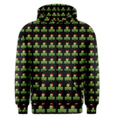 Irish Christmas Xmas Men s Zipper Hoodie