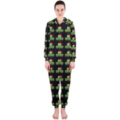 Irish Christmas Xmas Hooded Jumpsuit (Ladies)