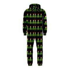 Irish Christmas Xmas Hooded Jumpsuit (Kids)