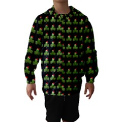 Irish Christmas Xmas Hooded Wind Breaker (Kids)