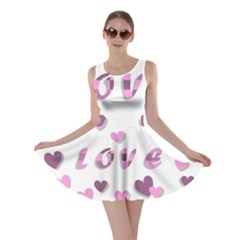 Love Valentine S Day 3d Fabric Skater Dress