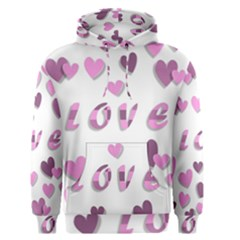 Love Valentine S Day 3d Fabric Men s Pullover Hoodie