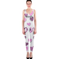 Love Valentine S Day 3d Fabric OnePiece Catsuit