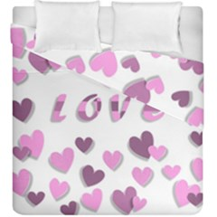 Love Valentine S Day 3d Fabric Duvet Cover Double Side (king Size)