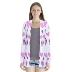 Love Valentine S Day 3d Fabric Cardigans