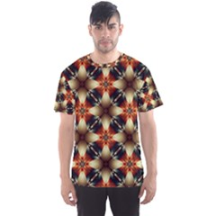 Kaleidoscope Image Background Men s Sport Mesh Tee
