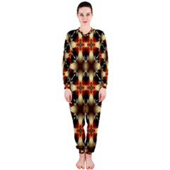 Kaleidoscope Image Background OnePiece Jumpsuit (Ladies)