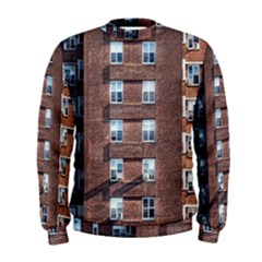 New York Building Windows Manhattan Men s Sweatshirt