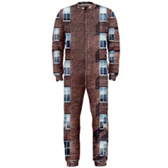 New York Building Windows Manhattan OnePiece Jumpsuit (Men)
