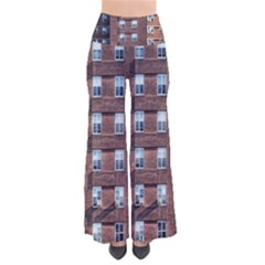 New York Building Windows Manhattan Pants