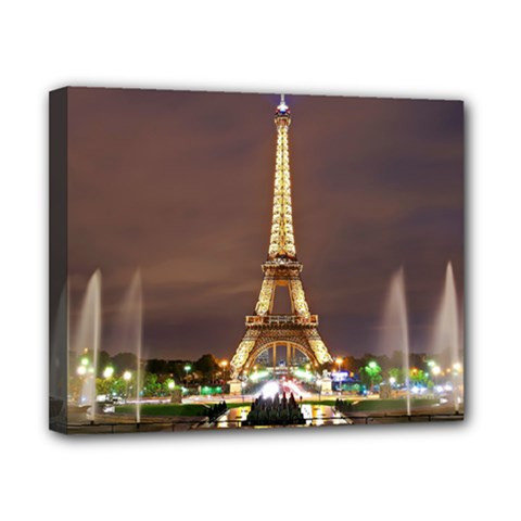 Paris Eiffel Tower Canvas 10  x 8