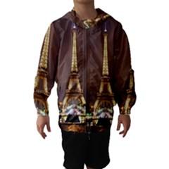 Paris Eiffel Tower Hooded Wind Breaker (Kids)
