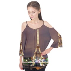 Paris Eiffel Tower Flutter Tees