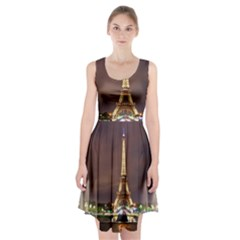 Paris Eiffel Tower Racerback Midi Dress
