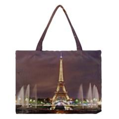 Paris Eiffel Tower Medium Tote Bag