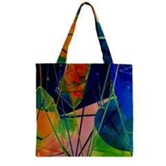 New Form Technology Zipper Grocery Tote Bag