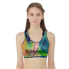 New Form Technology Sports Bra With Border