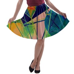 New Form Technology A-line Skater Skirt