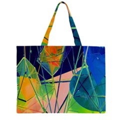 New Form Technology Large Tote Bag