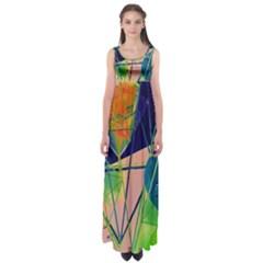 New Form Technology Empire Waist Maxi Dress