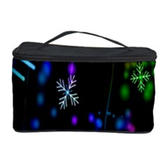 Nowflakes Snow Winter Christmas Cosmetic Storage Case